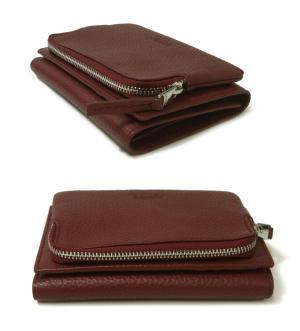 No.3 財布 小銭入れ 三つ開き カード大容量 flap wallet M Liv 135