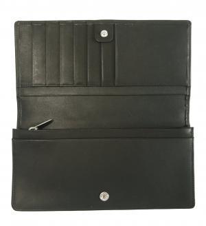 No.4 長財布  二つ折 ブラック Cambridge 137