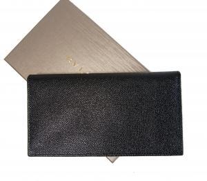 No.2 長財布 メンズ グレインカーフ 二つ折 (ブラック)