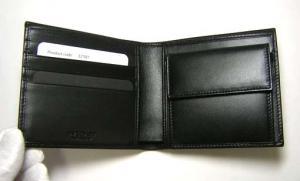 No.4 財布 ウィークエンド メンズ 二つ折 (ブラック/ブラック)