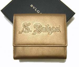 ブルガリ <訳ありお値引き>ソティリオブルガリ 財布