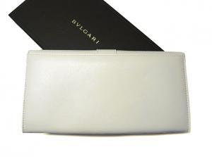 No.2 BVLGARIBVLGARI1 二つ折長財布(ホワイト)
