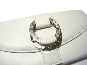 No.3 BVLGARIBVLGARI1 二つ折長財布(ホワイト)