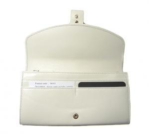 No.4 BVLGARIBVLGARI1 二つ折長財布(ホワイト)