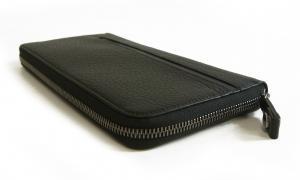 No.3 長財布 ブラック オーガナイザー トラベル オクト *大きめサイズ