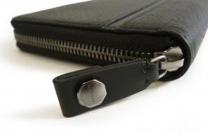 No.4 長財布 ブラック オーガナイザー トラベル オクト *大きめサイズ