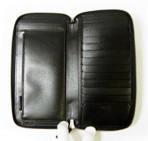 No.5 長財布 ブラック オーガナイザー トラベル オクト *大きめサイズ
