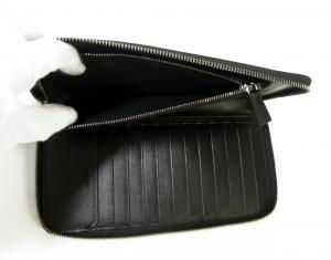 No.7 長財布 ブラック オーガナイザー トラベル オクト *大きめサイズ