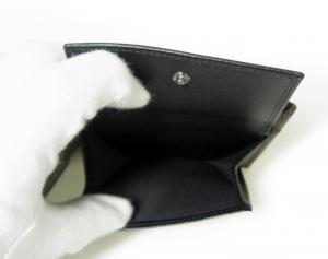 No.6 財布 二つ折 グレインカーフ メンズ ダークブラウン オクト