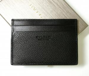 No.2 カードケース 名刺入れ オクト グレインカーフ(ブラック)