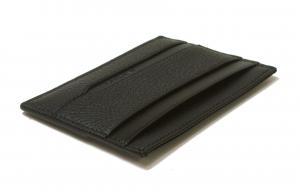 No.3 カードケース 名刺入れ オクト グレインカーフ(ブラック)