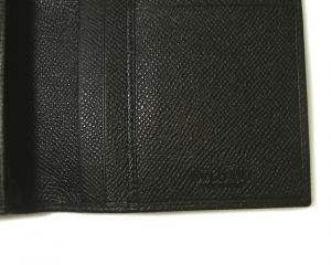 No.11 長財布 ブルガリブルガリ グレインカーフ 二つ折 ブラック