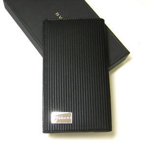 ブルガリ 財布 メンズ ミレリゲ 二つ折長財布(ブラック) MainPhoto