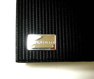 No.2 財布 メンズ ミレリゲ 二つ折長財布(ブラック)