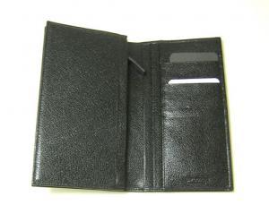 No.4 財布 メンズ ミレリゲ 二つ折長財布(ブラック)