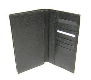 No.5 財布 メンズ ミレリゲ 二つ折長財布(ブラック)