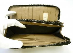 No.7 長財布 メンズ ラウンドファスナー ヘリテージ グレインレザー *大きめサイズ