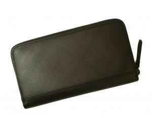 No.2 長財布 ラウンドファスナー チョコレートブラウン *大きめサイズ