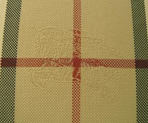 No.3 長財布 ラウンドファスナー ホースフェリーチェック ブラウン *大きめサイズ