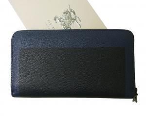 No.2 長財布 メンズ ロンドン レザー ラウンドファスナー *大きめサイズ