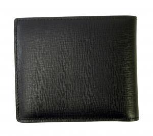 No.2 財布 メンズ ロンドンレザー 二つ折り (ダークネイビー)