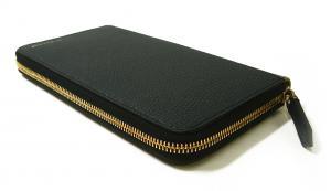 No.4 長財布 ファスナー トラベル ハウスチェック *大きめサイズ