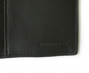 No.4 長財布 メンズ  ロンドンチェック(チャコール×ブラック)