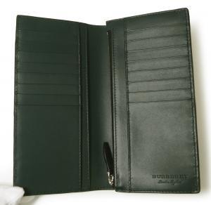 No.5 長財布 メンズ カード大容量 二つ折り ヘイマーケット ブライトブルー