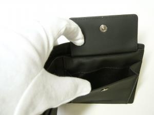 No.6 財布 メンズ 二つ折 ロンドンチェック(チャコール)
