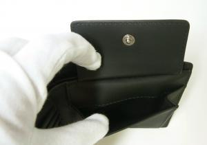 No.6 財布 メンズ 二つ折 ロンドンチェック(ネイビー)