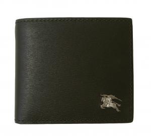 バーバリー 財布 メンズ 二つ折 ロンドンレザー(ブラック)