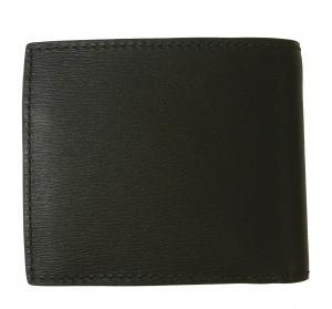 No.2 財布 メンズ 二つ折 ロンドンレザー(ブラック)