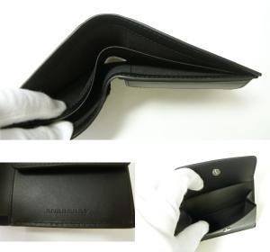 No.5 財布 メンズ 二つ折 ロンドンレザー(ブラック)
