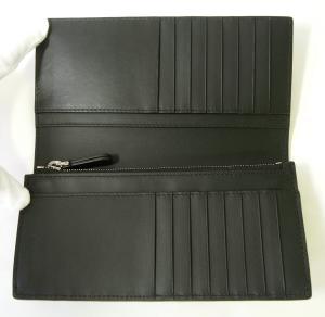No.7 長財布 メンズ 二つ折 カード大容量 ロンドンレザー(ブラック)