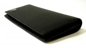 No.8 長財布 メンズ 二つ折 カード大容量 ロンドンレザー(ブラック)