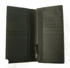 No.4 長財布 メンズ 二つ折 カード大容量 ロンドンレザー(ネイビー)