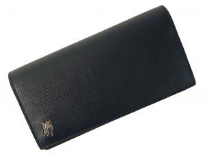 No.8 長財布 メンズ 二つ折 カード大容量 ロンドンレザー(ネイビー)