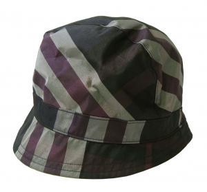バーバリー 帽子 レディース ハット Sサイズ CARINA (ロイヤルパープルチェック)