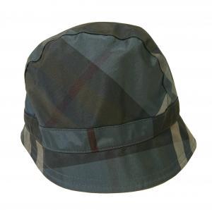 バーバリー 帽子 レディース ハット CARINA(エンパイアブルーチェック) Sサイズ
