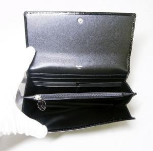 No.4 長財布 ハッピーバースデー カード12枚  ブラック