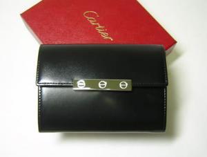 カルティエ 財布 ラブコレクション マチ付き二つ折 オニキス MainPhoto