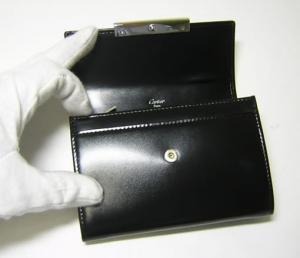 No.4 財布 ラブコレクション マチ付き二つ折 オニキス