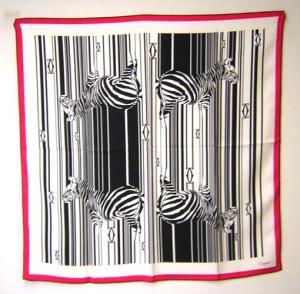 カルティエ スカーフ シルク 90×90サイズ (ブラック)