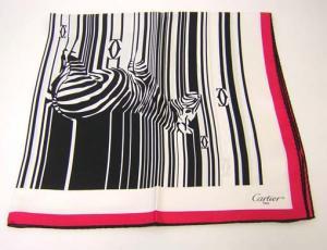 No.3 スカーフ シルク 90×90サイズ (ブラック)