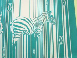 No.3 スカーフ シルク 90×90サイズ (ターコイズ)