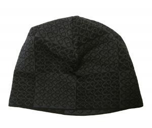 クリスチャンディオール ニットキャップ 帽子 (ブラック+グレー)