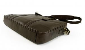 No.4 メンズバッグ スリム ブリーフケース ビジネスバッグ