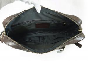 No.7 メンズバッグ スリム ブリーフケース ビジネスバッグ