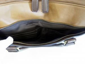 No.6 メンズバッグ ハーネス スリムブリーフケース ビジネスバッグ