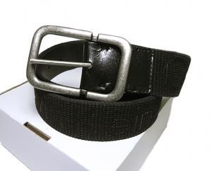 カルバンクライン ベルト メンズ 長さ調整不可 レザー (ブラック)